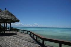 Vista del Océano Índico, Nungwi, Zanzibar fotos de archivo libres de regalías