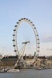 Vista del ojo de Londres Fotografía de archivo
