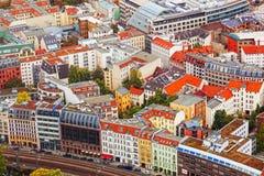 Vista del otoño Berlín fotografía de archivo libre de regalías