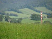Vista del paesaggio Fotografia Stock