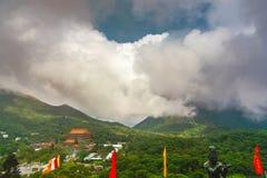 Vista del paesaggio da Buddha Immagine Stock Libera da Diritti