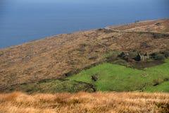 Vista del paesaggio dal seefin della montagna Fotografia Stock