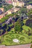 Vista del paesaggio del parco Roma Fotografie Stock Libere da Diritti