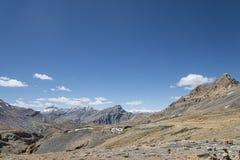 Vista del paesaggio dell'alta montagna Fotografia Stock