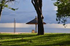 Vista del paesaggio della destinazione turistica del lago Malawi fotografia stock