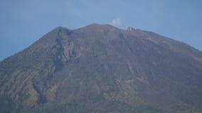 Vista del paesaggio della foresta della montagna bali fotografia stock