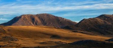 Vista del paesaggio della montagna di Bistra Fotografie Stock Libere da Diritti