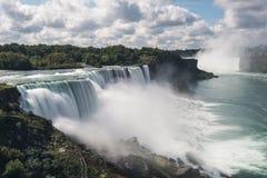 Vista del paesaggio di cascate del Niagara Immagine Stock