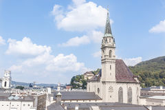 Vista del paesaggio di Innsbruck Fotografia Stock