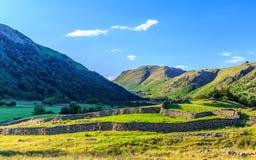 Vista del paesaggio di urbano nel Regno Unito Fotografia Stock Libera da Diritti