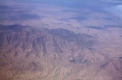 Vista del paesaggio e di zona di montagna in Kandahar, Afghanistan fotografia stock