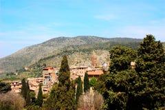 Vista del paesaggio in Italia Immagini Stock