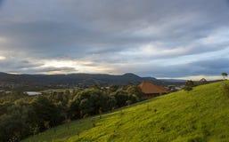 Vista del paesaggio a sud di Sydney Immagine Stock Libera da Diritti