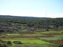 Vista del paese di Malta Fotografia Stock