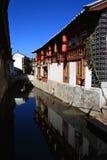 Vista del paese di yunan Immagine Stock