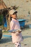 Vista del paesino di pescatori di Mui Ne Fotografia Stock Libera da Diritti