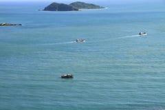 Vista del paisaje marino Imágenes de archivo libres de regalías