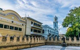 Vista del palacio consistorial Imagenes de archivo