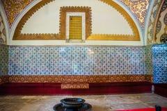Vista del palacio de Topkapi en Estambul, Turquía fotos de archivo libres de regalías