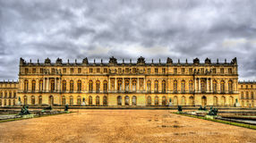 Vista del palacio de Versalles fotografía de archivo