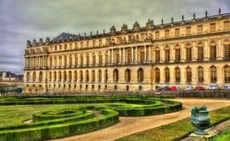 Vista del palacio de Versalles imágenes de archivo libres de regalías