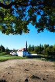 Vista del palazzo del priore in Gatcina fotografia stock libera da diritti