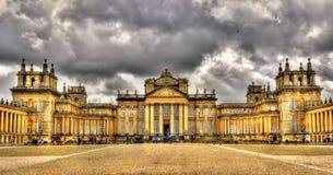 Vista del palazzo di Blenheim - Inghilterra Fotografia Stock