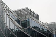 Vista del palazzo di cristallo Immagini Stock Libere da Diritti
