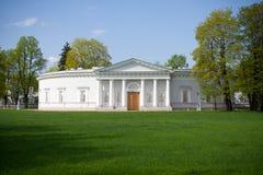 Vista del palazzo di Elagin, St Petersburg Immagine Stock