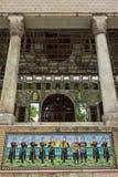 Vista del palazzo di Golestan a Teheran Immagini Stock