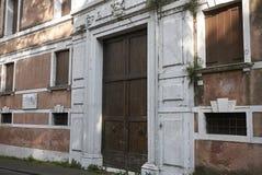 Vista del palazzo Scotti fotografia stock