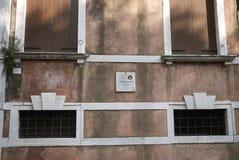 Vista del palazzo Scotti fotografia stock libera da diritti