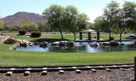 Vista del parco Fotografia Stock