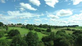 Vista del parco dalla cima video d archivio