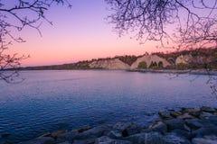 Vista del parco di Scarborough immagini stock libere da diritti