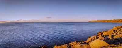 Vista del parco di Scarborough fotografie stock