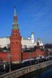 Vista del parco di Tsaritsyno a Mosca Fotografia Stock Libera da Diritti