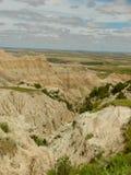 Vista del parco nazionale dei calanchi fotografie stock libere da diritti