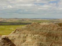 Vista del parco nazionale dei calanchi fotografie stock