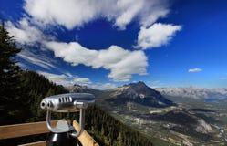 Vista del parco nazionale di banff Fotografia Stock Libera da Diritti