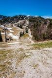 Vista del parco nazionale Slovenia di Triglav Fotografie Stock