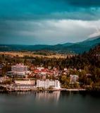 Vista del parco nazionale Slovenia di Triglav Immagini Stock