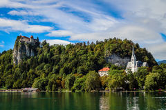 Vista del parco nazionale Slovenia di Triglav Immagine Stock Libera da Diritti