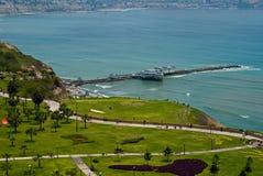 Vista del parque de Miraflores, Lima - Perú Imágenes de archivo libres de regalías