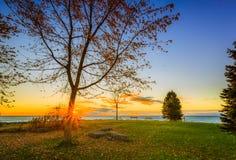 Vista del parque de Scarborough imagen de archivo libre de regalías