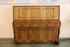 Vista del piano del vintage imagen de archivo