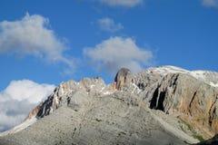 Vista del plateau della montagna rocciosa Immagine Stock Libera da Diritti