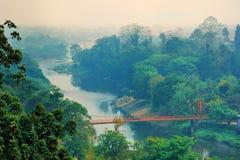 Vista del ponte Fotografia Stock