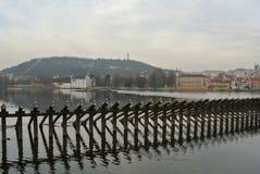 Vista del ponte di Charles Immagini Stock Libere da Diritti