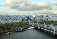 Vista del ponte a Londra Fotografia Stock Libera da Diritti